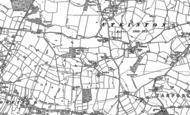Old Map of Utkinton, 1897