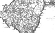 Old Map of Uwchmynydd, 1899 - 1900