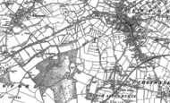 Old Map of Vauxhall, 1880 - 1900