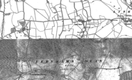 Old Map of Vernham Street, 1909
