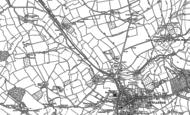 Old Map of Verrington, 1885