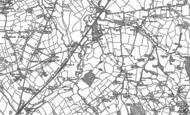 Old Map of Wadbrook, 1903