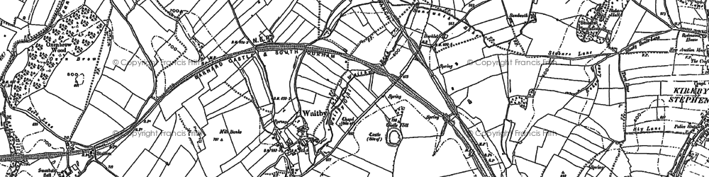 Old map of Leases in 1897