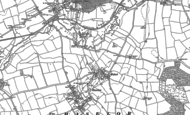 Old Map of Walcote, 1885