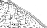 Old Map of Walcott, 1885 - 1905