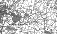 Old Map of Walditch, 1901