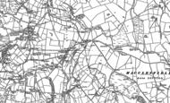 Old Map of Walker Barn, 1907