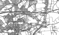 Old Map of Walkford, 1907