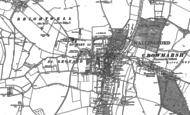 Old Map of Wallingford, 1910