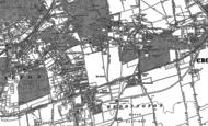 Old Map of Wallington, 1895 - 1911