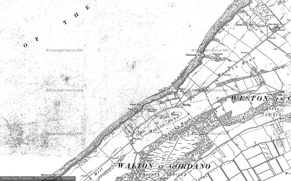 Old Map of Walton Bay, 1883 - 1902 in 1883