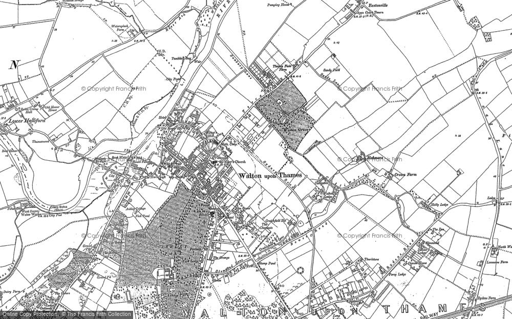 Walton-on-Thames, 1895