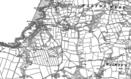 Old Map of Walton West, 1875 - 1948