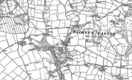 Old Map of Walwyn's Castle, 1875 - 1948