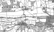 Old Map of Wanborough, 1895