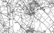 Old Map of Wanborough, 1910 - 1922