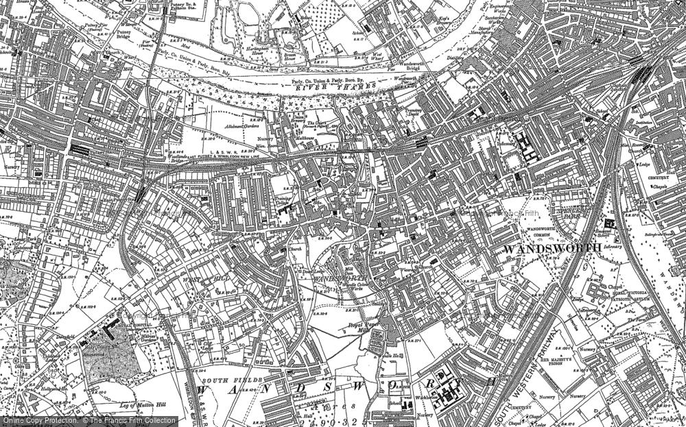 Wandsworth, 1894 - 1911