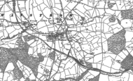Old Map of Wanstrow, 1884