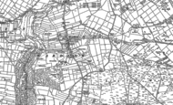 Old Map of Wardlow, 1879 - 1880