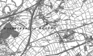 Old Map of Warmfield, 1890