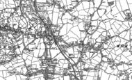 Old Map of Warmley, 1881 - 1902
