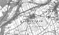 Old Map of Warmsworth, 1901
