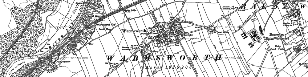 Old map of Levitt Hagg in 1901