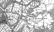 Old Map of Warningcamp, 1875 - 1896