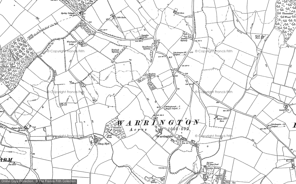 Map of Warrington, 1899 - Francis Frith