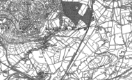 Old Map of Warton, 1910 - 1911