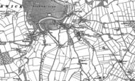Old Map of Warwick Bridge, 1899
