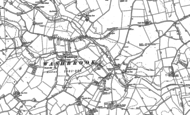 Old Map of Washbrook, 1881 - 1884