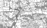 Old Map of Washington, 1896