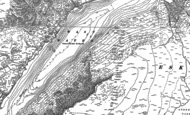 Old Map of Wast Water, 1897 - 1898