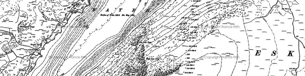 Old map of Whin Rigg in 1897