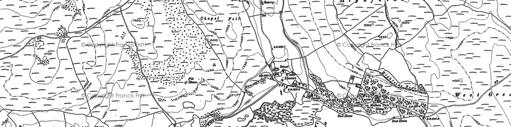 Old map of Back Pasture in 1907
