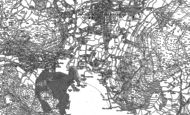Old Map of Waterhead, 1912 - 1913