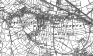 Old Map of Wath Upon Dearne, 1890