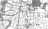 Old Map of Watlington, 1884