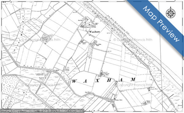 Historic Map covering Brograve Level
