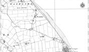 Old Map of Waxholme, 1908