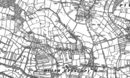 Old Map of Wearne, 1885 - 1886