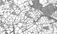 Old Map of Webheath, 1903