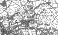 Old Map of Wednesfield, 1883 - 1885