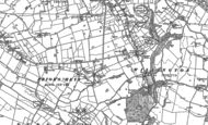Old Map of Weetwood Common, 1897