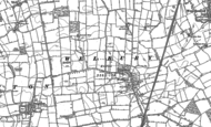 Old Map of Welbury, 1892 - 1893