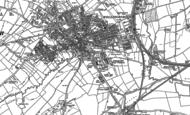 Old Map of Wellingborough, 1884 - 1885