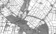 Old Map of Welton, 1888 - 1908