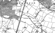 Old Map of Welwyn Garden City, 1897