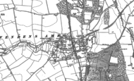 Old Map of Wendens Ambo, 1896